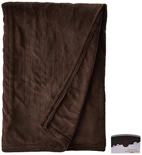 Biddeford 2020-905291-711 Electric Heated Knit MicroPlush Bl