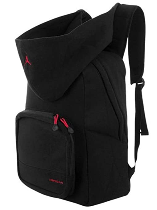 0891fb9dcd Nike Air Jordan Fleece Hoody Black Backpack 9a1534-023: Amazon.ca: Sports &  Outdoors