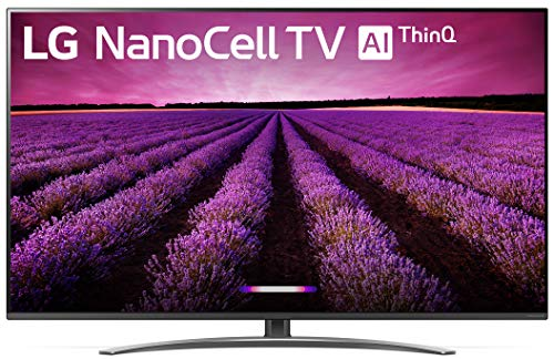 "LG 55SM8100AUA Alexa Built-in Nano 8 Series 55"" 4K Ultra HD Smart LED NanoCell TV (2019)"