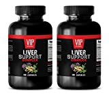 liver supplemental - LIVER SUPPORT COMPLEX - milk thistle bulk supplements - 2 Bottles 200 Capsules