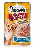 Delectables Stew Lickable Wet Cat Treats – Tuna & Shrimp – 12 Pack Review