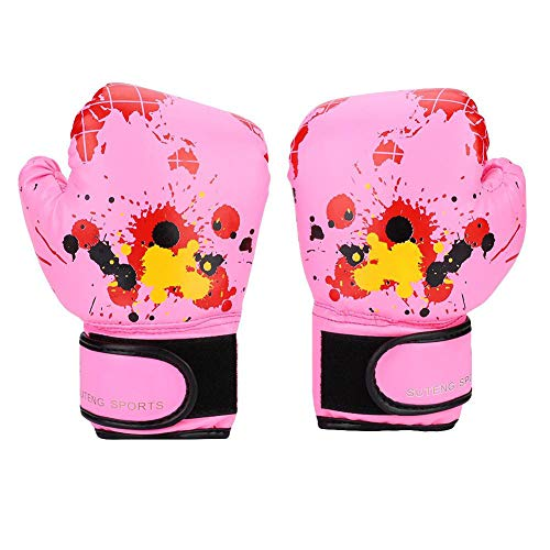 Zerone Baby Girls Boys Children Boxing Gloves Punch Training Kids Fight Mitts