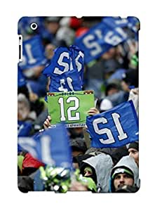 Storydnrmue Durable Defender Case For Ipad 2/3/4 Tpu Cover(SEATTLE SEAHAWKS Nfl Football 4) Best Gift Choice