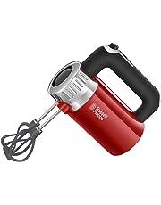 Russell Hobbs Retro Sbattitore Elettrico, 500 W, Acciaio Inox, Rosso