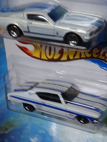 Hot Wheels Detailed Diecast 1969 Chevy Chevelle SS 396 - 1967 Shelby GT-500 Scale 1/64