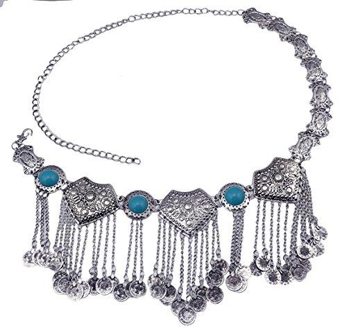 Idealway Silver Acrylic Pendant Jewelry