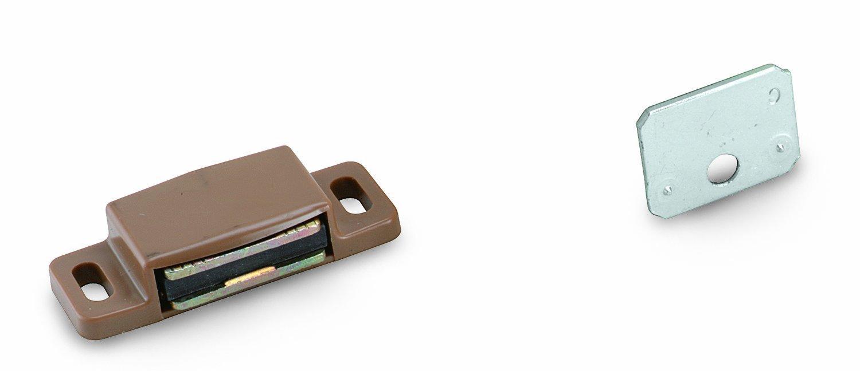 Amerock Bp9793pt Fermeture magné tique, plastique Brun clair BP9793-PT