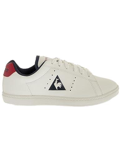 f59e484d65f4 Le Coq Sportif Courtone GS Lea Sneakers Unisex Low Sneakers Bianco