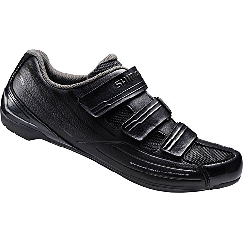Shimano 2016 Men's Sport Touring Road Cycling Shoes - SH-RP2 (Black - 44.0) Size 44 M EU / 11.2 B(M) US Women / 9.7 D(M) US Men by Shimano
