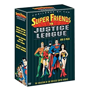 Challenge of the Super Friends to Justice League (DVD 3-Pack) (Attack of the Legion of Doom/United They Stand/Secret Origins) (2004)