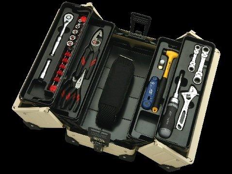 京都機械工具(KTC) 9.5Sq アクティブツールセット カラー デザートベージュ SK3169WDB B0785P3JB6