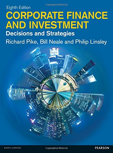 Corporate Finance: Decisions & Strategies, 8th Edition Front Cover