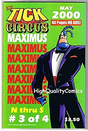 amazon com tick circus maximus 3 nm ben edlund tv series 2000