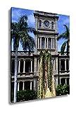 Ashley Canvas Statue Of King Kamehameha Honolulu Hawaii, Wall Art Home Decor, Ready to Hang, Color, 20x16, AG6406102