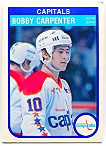 1982/83 OPC Bobby Carpenter Rookie Card #361 Washington Capitals