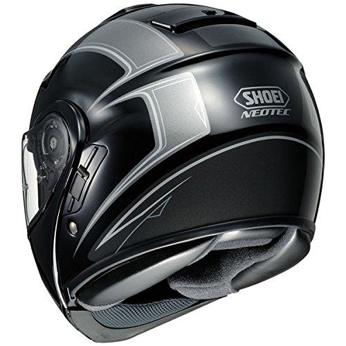 Shoei Neotec Borealis Modular Helmet Black/Silver 2XL