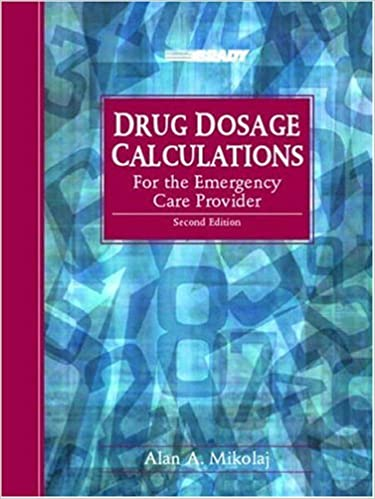 paramedic drug calculations