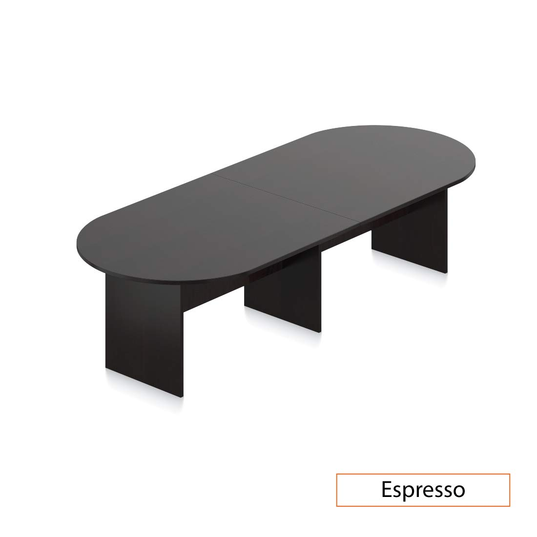 GOF 10 FT Conference Table (120W x 48D x 29.5H), Espresso
