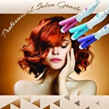 2-in-1 Professional Travel Salon Grade Travel Curling and Flat Iron (Pink)