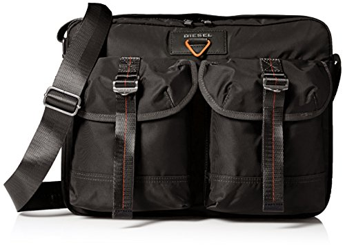 Price comparison product image Diesel Men's Kross-d-Over F-Cross Messenger, Black