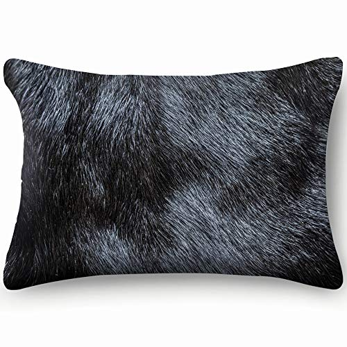 best bags Fur Beauty Fashion Skin Cool Super Soft and Luxury Pillow Cases Covers Sofa Bed Throw Pillow Cover with Envelope Closure 1624 Inch