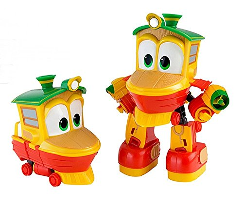 Korean TV Animation Diecasting Mini Robot Train Characters Toy For ...