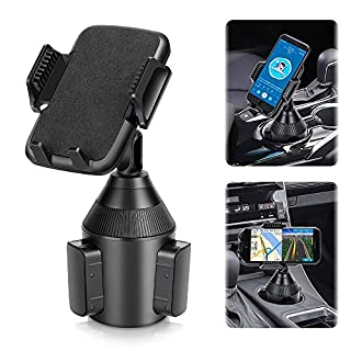 Car Cup Holder,2020 Upgraded Phone Holder for Car Adjustable Cup Holder for Car Automobile Car Cup Holder Phone Mount for iPhone 11 Pro Pro/XR/XS Max/X/8/7 Samsung S10/Note 9/S8 Plus
