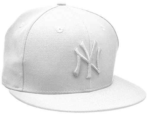 Era Yankees The Homme De Baseball Noir Fitted Basic Mlb Blanc 59fifty Blanc Chapeau New UZq1dU