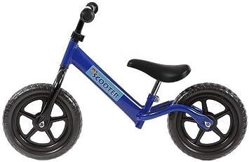 PexKids - Bicicleta Infantil sin Pedales, Color Azul, tamaño 12 Pulgadas: Amazon.es: Deportes y aire libre