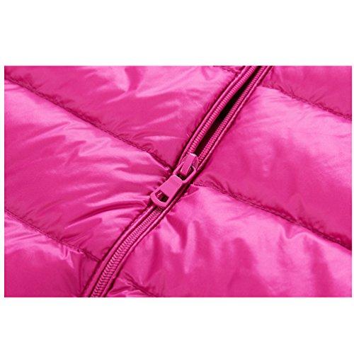 Zipper Collar Vest 05 Women Jackets Coat feathercoat amp;shaina Down Waistcoat Stand Warm Short Keep shane 8PwTqYW
