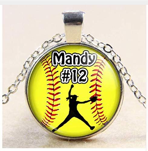 softball pitcher necklace - 7
