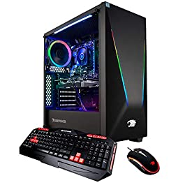 iBUYPOWER Elite Gaming PC Computer Desktop Trace PRO9400 (AMD Ryzen 5 3600 6-Core 3.6GHz, NVIDIA Geforce GTX 1660 6GB…