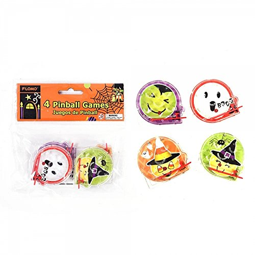 FLOMO Halloween Emoji Pinball Game Party Favors by
