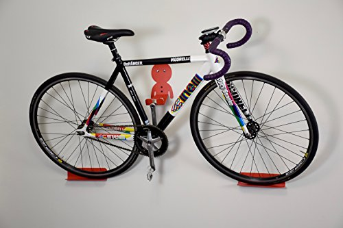 DaHANGER Dan pedal hook for horizontal bike storage (powder coated steel) & DaHANGER Dan pedal hook for horizontal bike storage (powder coated ...