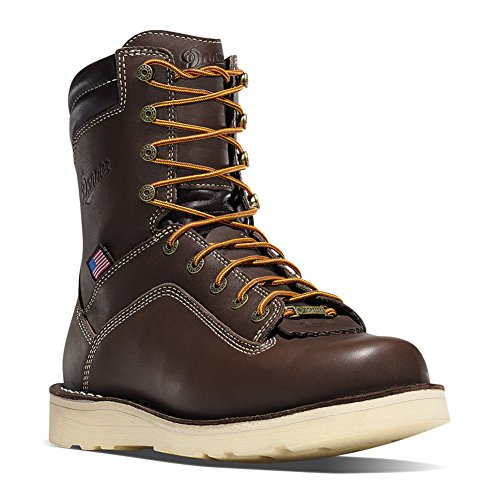 Danner Men's Quarry USA 8 Inch Wedge Work Boot, Brown, 11...