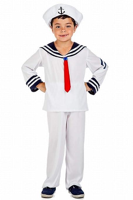 Disfraz de Marinero para niño: Amazon.es: Juguetes y juegos