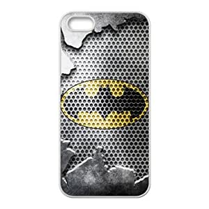 Back Case Cover with Batman Logo RUBBER Case for Apple iPhone 5
