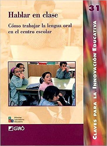 Hablar en clase: 031 (Editorial Popular)