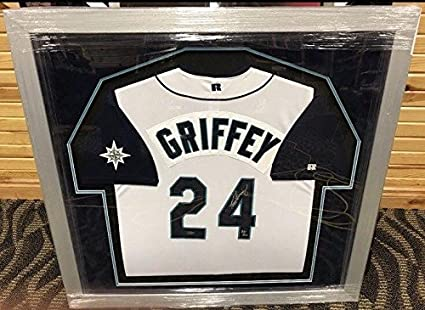 Image Unavailable. Image not available for. Color  Ken Griffey Jr. Signed  Jersey - Russell ... a31747e9f
