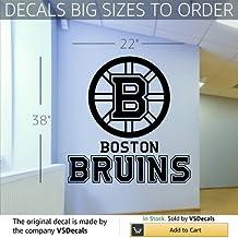 Wall Mural Vinyl Sticker Sports Logos Nhl-boston Bruins (S510)