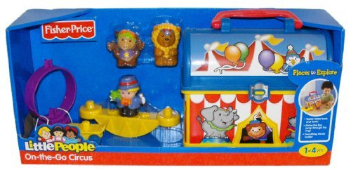 Fisher Price Little People On The Go Circus Take along