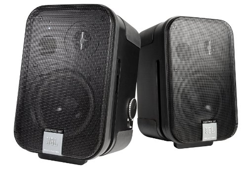 JBL Professional C2PS Control 2P Compact Powered Monitor, pair (master and extension speakers), Black from JBL Professional