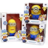 Despicable Me 2 Minion 9 quot; Collector Talking figure doll Thinkway DAVE TIM STUART
