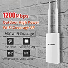 YMNL 1200Mbps CF-EW72 Banda Dual 5 GHz Alta Potencia Ap 360degree Punto de Acceso de Cobertura omnidireccional Punto de Acceso de Cobertura WiFi