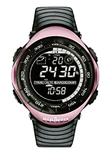 Suunto Vector Wrist-Top Computer Watch with Altimeter, Barometer, Compass, and Thermometer (Pink)