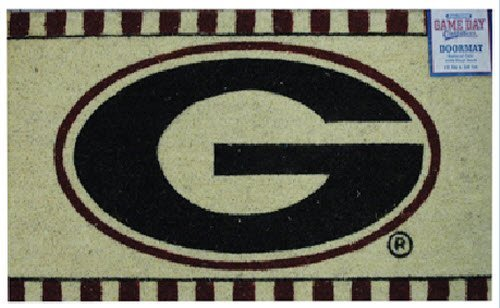 NCAA Georgia Bulldogs Houseware Doormat, One Size, Multicolor (U-ga Gifts)