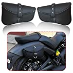 CHENWEI-Motorcycle-Saddle-bags-PU-Leather-Swingarm-Bag-Side-Tool-Bags-Storage-For-Harley-Sportster-883-1200XL-Color-Name-One-Pair