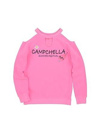 8575a9c75 Amazon.com: BUTTER SUPER SOFT Girl's Long Raglan Sleeve Pullover Fleece  Sweatshirt: Clothing