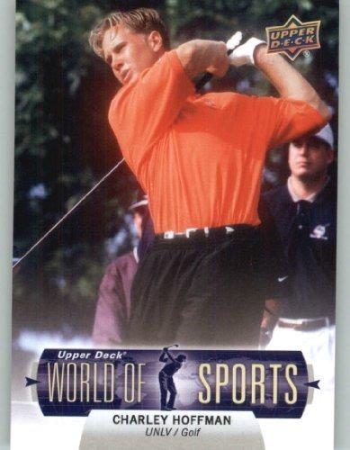 2011 Upper Deck World of Sports Baseball Trading Card #279 Charley Hoffman - UNLV Rebels (Golf / PGA)