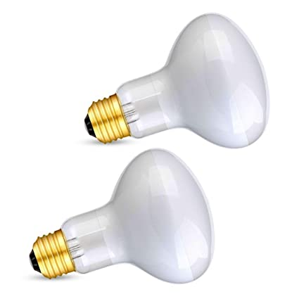 crlight 100 W te bronceas Spot lámpara UVA vidrio Calor suave luz blanca Bombilla para Reptil